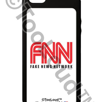 Fake News Network Funny iPhone 5C Grip Case  by TooLoud