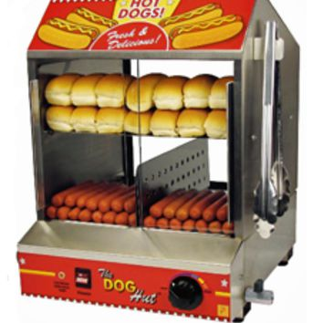 Hot Dog Steamer Paragon Hot Dog Steamer And Merchandiser
