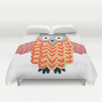 OWL Duvet Cover by Acus