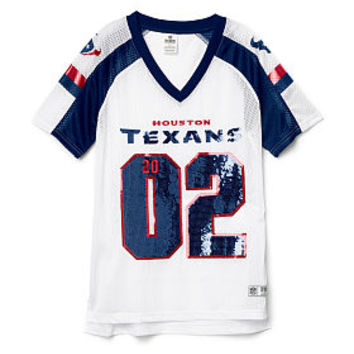 Houston Texans Bling V-neck Jersey - PINK - Victoria's Secret
