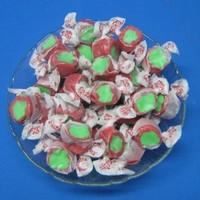 Candy Apple Flavored Taffy Town Salt Water Taffy 2 Pounds