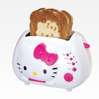 Hello Kitty 2-Slice Wide Slot Toaster