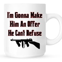 I'm Gonna Make Him An Offer He Can't Refuse - Movie Quote from The Godfather