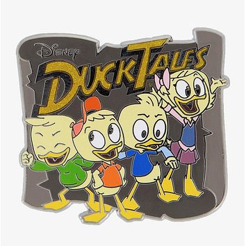 Disney Parks Ducktales Logo Pin New with Card