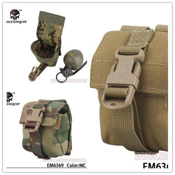 Emerson LBT Style Single Frag Grenade Pouch Molle military airsoft painball combat gear EM6369 Leisure Bags