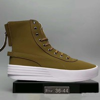 The Weeknd X PUMA XO PARALLEL The bottom of the thick Fashion Women boots shoes  Army GreenG-A0-HXYDXPF