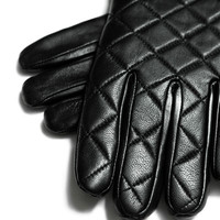 QUILTED GLOVE WITH KNITTED CUFF - Accessories - Accessories - Man | ZARA United States