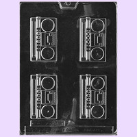 Boom Box Chocolate Mold