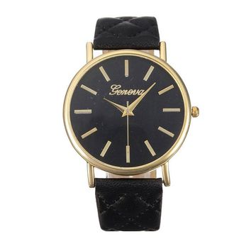 Fashion Faux Leather Wrist Watches
