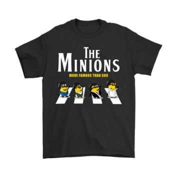 PEAP8HB The Minions More Famous Than Gru Despicable Me Shirts