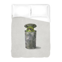 Grouchy Cat Duvet Cover