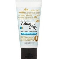 The Face Shop Volcanic Clay Black Head Clay Nose Pack 50g (Peel off)
