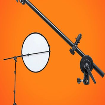 TELESCOPIC TRIPOD STAND REFLECTOR HOLDER ARM - PRY2669