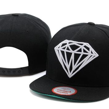 Perfect Diamonds Supply Co. Snapbacks hats Women Men Embroidery Sports Sun Hat Baseball Cap Hat