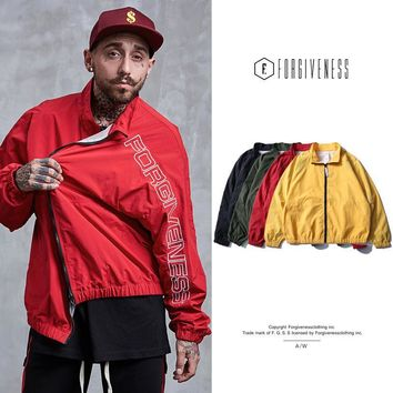 Men Jacket Autumn Embroidery Windbreaker [10895415299]