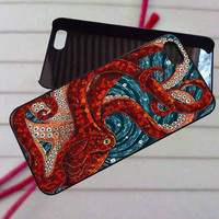 Mosaic Octopus Art- case iPhone 4/4s,5,5s,5c,6,6+samsung s3,4,5,6