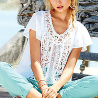 Flutter-sleeve Blouse - Victoria's Secret