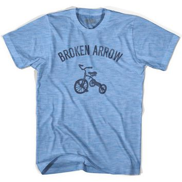 Broken Arrow City Tricycle Adult Tri-Blend T-shirt