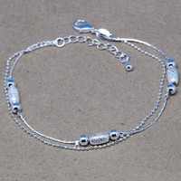 Great Deal New Arrival Hot Sale Shiny Awesome Gift 925 Jewelry Stylish Korean Silver Ladies Bracelet [8171778119]
