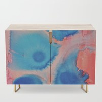 Sea Urchins & Coral Credenza by duckyb