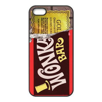 Design Custom Willy Wonka Chocolate Bar Golden Ticket for Your Phone Device