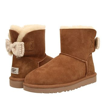 UGG  Bow tie snow boots