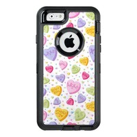 Valentine Candy Hearts OtterBox Defender iPhone Case