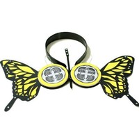 L-email Headphones Butterfly Ruka Earphone Cosplay Jp30-yellow(not true earphone)