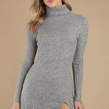 Misunderstood Rib Knit Dress