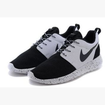 NIKE Women Men Running Sport Casual Shoes Sneakers Black toe cap starry sky