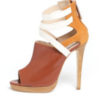 Henri Lepore Dezert off the cuff heeled sandal