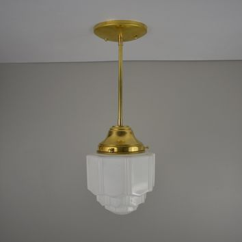Vintage Mini Skyscraper Pendant Light