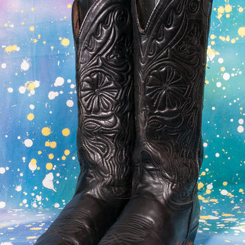 GUESS Women's Tall Cowboy Boots Size 8