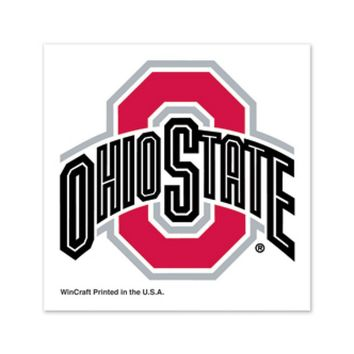 Ohio State Buckeyes Temporary Tattoos - 4 Pack Team Color - Old Logo