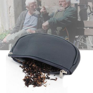 Firedog Blue Tobacco case Genuine Leather Tobacco Pouch Box Holder Pipe Rolling Cigarette Tobaccos Case