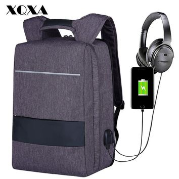 USB Charging Men Backpack Notebook Backpack Women Laptop Bag Large Capacity Travel School Backpack for Teenage