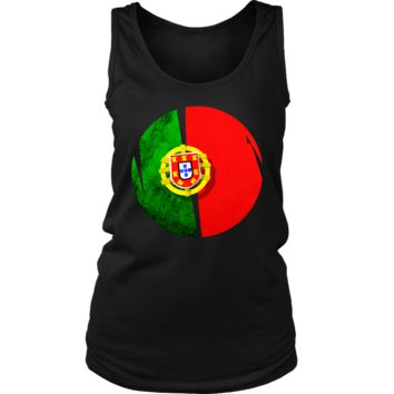 Portugal Flag Proud Portuguese Native Country Women's Tank
