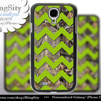 Camo Apple Green Chevron Galaxy S4 case S5 Real Tree Camo Deer Personalized Monogram Samsung Galaxy S3 Case Note 2 3 Cover