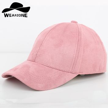Trendy Winter Jacket New High-quality Suede Baseball Cap Women Casquette Snapback Brim Caps Bones Hip Hop Hats Men Gorras AT_92_12