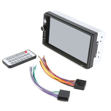 7 Inch 2 DIN 7010B HD Bluetooth Touch Screen Car Stereo Radio Vedio FM/MP5/MP3/USB With Remote