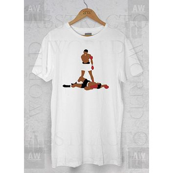 Muhammad Ali Goat Sonny Liston Adult Graphic Unisex T Shirt