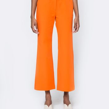 Achro / Cropped Flared Trousers