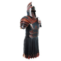 Praetorian Leather Battle Armor Set - RT-207 by Medieval Collectibles