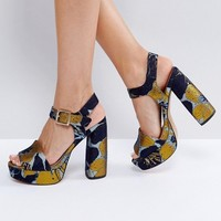 ASOS HIDDEN GEM Platform Sandals at asos.com