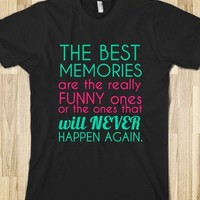 The Best Memories Shirt - Connected Universe