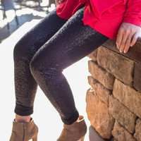 Sparkle and Shine- Sequin Leggings