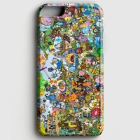 Adventure Time Paint Rain iPhone 7 Case