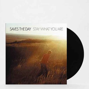 Saves The Day - Stay What You Are LP- Black One