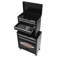 Craftsman Tool Chest 5 Drawer Storage Cabinet Toolbox Metal w 58 pc Tool Set NEW