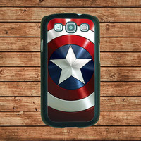 Captain America Shield--Samsung Galaxy S3 case ,in plastic hard case,black or white or clear color